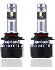 NOVSIGHT 9005 HB3 LED Headlight Bulbs 6500K Cool White 70W(35Wx2) 10000LM(5000LMx2) - 2 Year Warranty