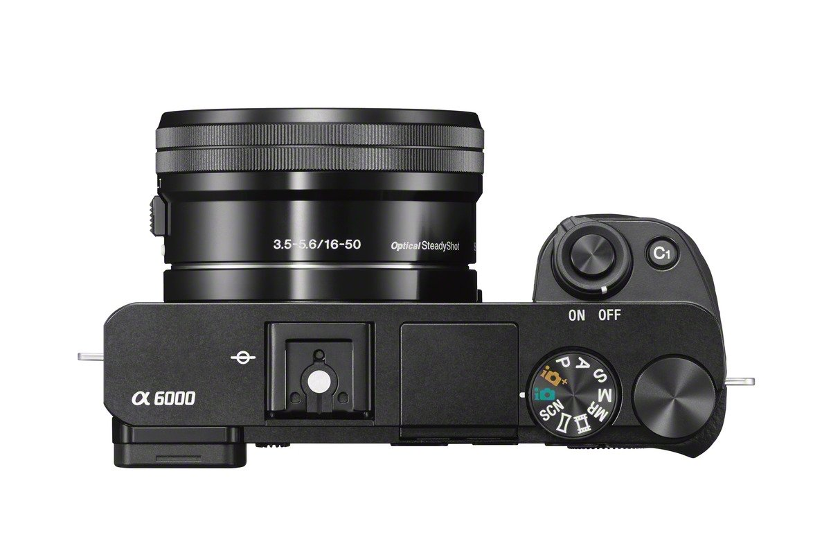 Sony Alpha a6000 Mirrorless Digitial Camera 24.3MP SLR Camera with 3.0-Inch LCD (Black) w/ 16-50mm Power Zoom Lens
