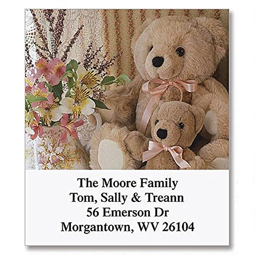 Teddy Bear Magic Self-Adhesive, Flat-Sheet Select Address Labels (12 Designs)