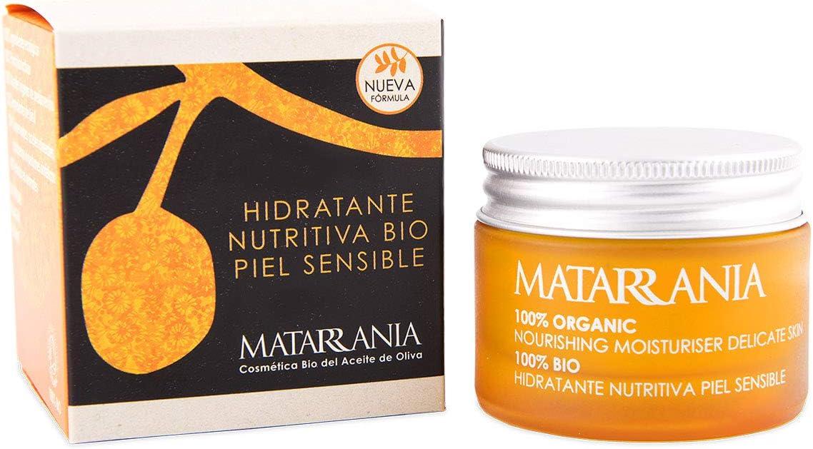 Matarrania - Hidratante Nutritiva Piel Sensible Bio Matarrania, 30ml