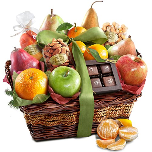 Orchard Delight Fruit and Gourmet Holiday Basket