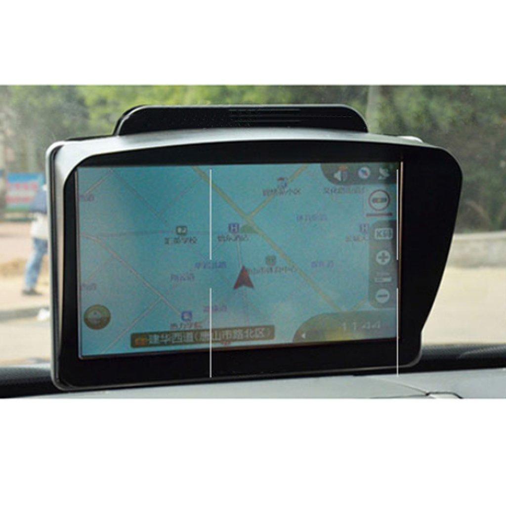 gazechimp 7Lente Antideslumbrante Capucha Para Coche GPS Sombrilla Protector De Pantalla Visera Parasol