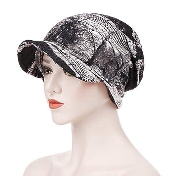Gorra de quimioterapia contra el cáncer - Gorra de Dormir Sombrero ...