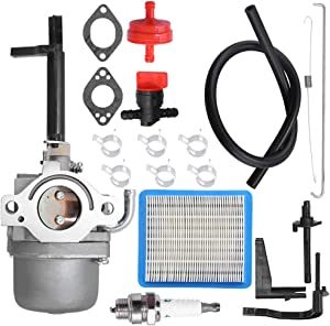 Anxingo 697978 591378 Carburetor Replacement for Briggs & Stratton Nikki 796321 696132 696133 796322 699958 697351 699966 698455 695918 694952 695919 695328 Toro MTD Carb Snowblower Nikki 598305 Carb