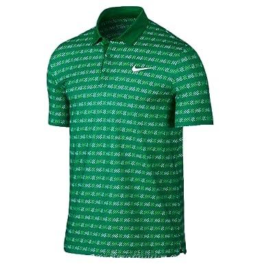 Nike Court Polo Shirt Mens Lucid Green/White