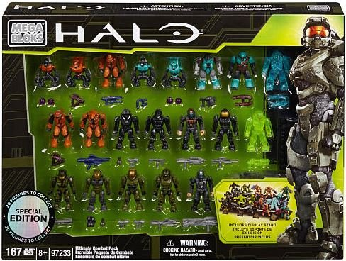 Mega Blok: Halo - Ultimate Combat Pack (20 Figures)