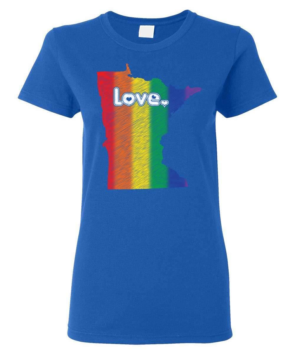 Gay Pride Minessota Love Shirts