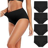 Molasus Women's Underwear High Waist Cotton Soft Breathable Briefs Panties C Section Full Coverage Post Partum…