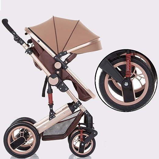 CS DTXC Carrito de bebé para Cochecito de bebé, reclinable