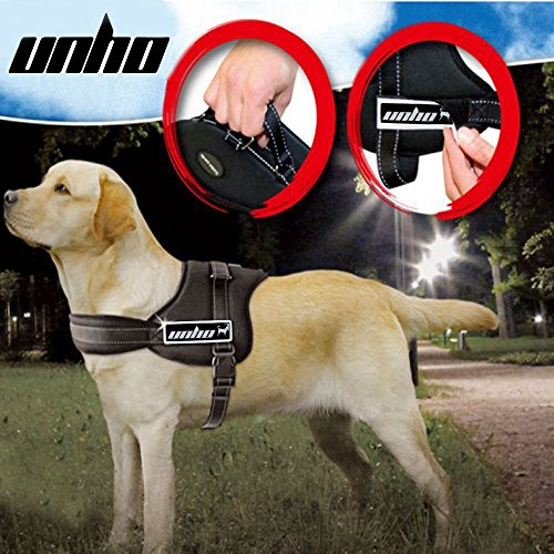 UNHO Dog Body Harness Padded Extra Big Large Medium Small Heavy Duty vary from All kinds of size by UNHO