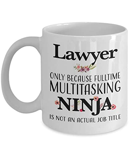 Amazon.com: Lawyer Coffee Mug - Valentines Day Gifts for Bar ...
