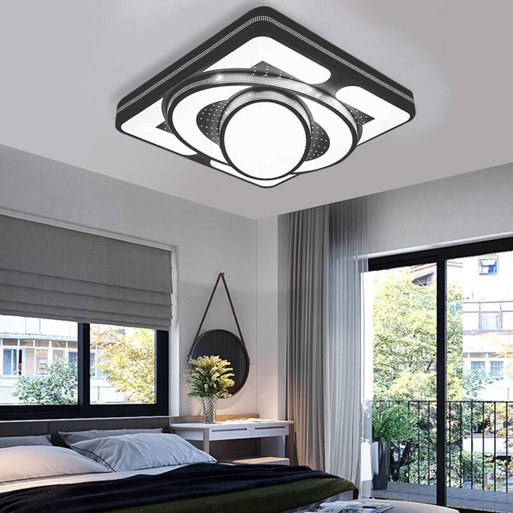 Classe /énerg/étique A++ MYHOO 48W Blanc Chaud LED Plafonnier Moderne Lampe de couloir Cuisine de chambre /à coucher /Économie d/énergie lumi/ère applique murale