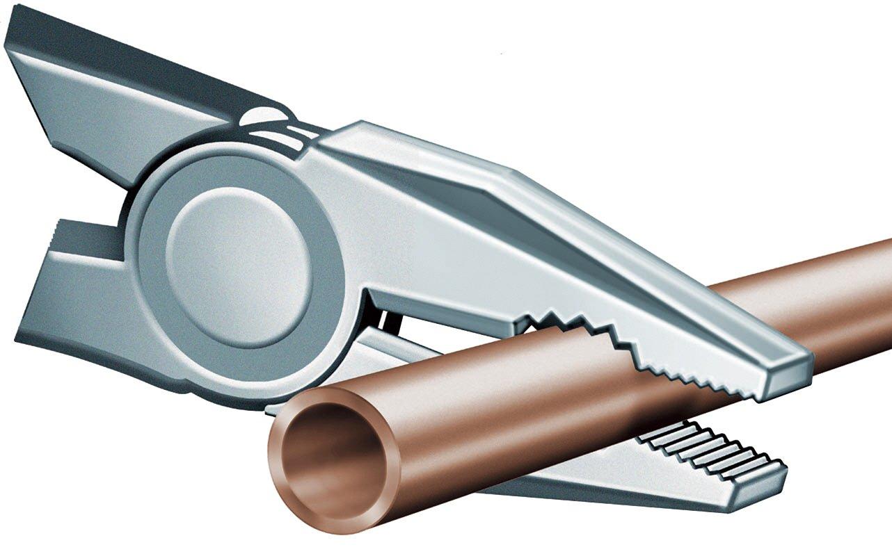 KNIPEX 03 01 200 Alicate universal negro atramentado recubiertos de pl/ástico 200 mm