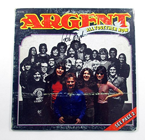 Rod Argent Signed LP Record Album All Together Now w/ AUTO
