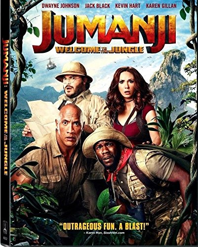 Jumanji: Welcome to the Jungle (DVD, 2018) by Col. Picture