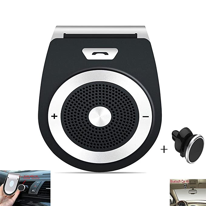 Car Speaker Hands Free Wireless-in Car Kit Speakers Radio for Car Stereo Sun  Visor 4cbd5871bf5