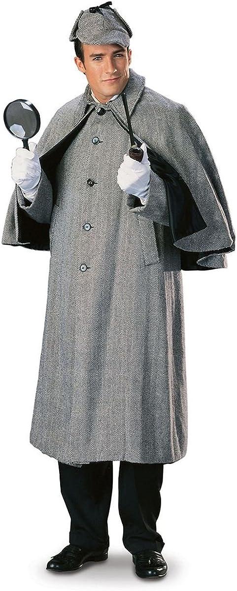 Men's Sherlock Holmes Capecoat Regency Collection Costume