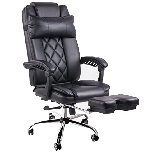Luxus bürostuhl  BTM Luxus-Bürostuhl Hohe Rückenlehne, neigbar, mit ...