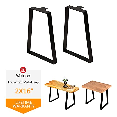 Strange 16 Tall Trapezoid Metal Table Legs For Furniture Bench Ibusinesslaw Wood Chair Design Ideas Ibusinesslaworg