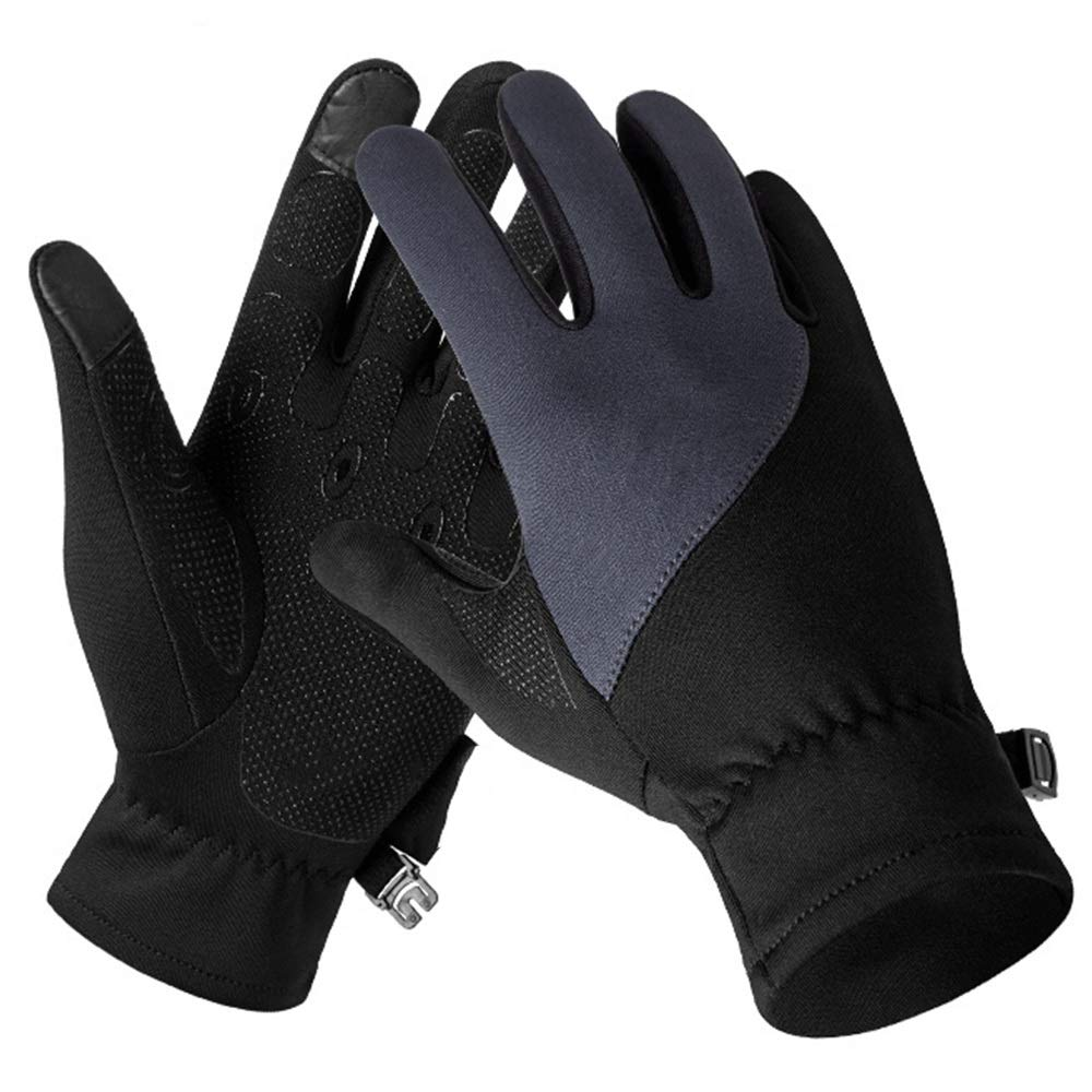 GLJJQMY Outdoor Sports Single-Faced Fleece Gloves, Warm and Cold Running Gloves, Winter Gloves for Men and Women, Multiple Colors Glove