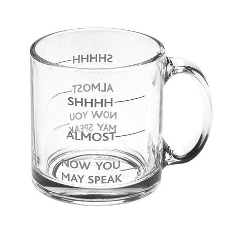 ShhhAlmostNow Speak Funny Signals Mug Glass Coffee May You 54Rqj3AL