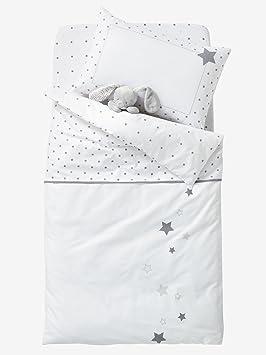 c650a0d58f783 Vertbaudet Drap-Housse bébé Pluie D ETOILES Blanc étoiles 60x120 ...