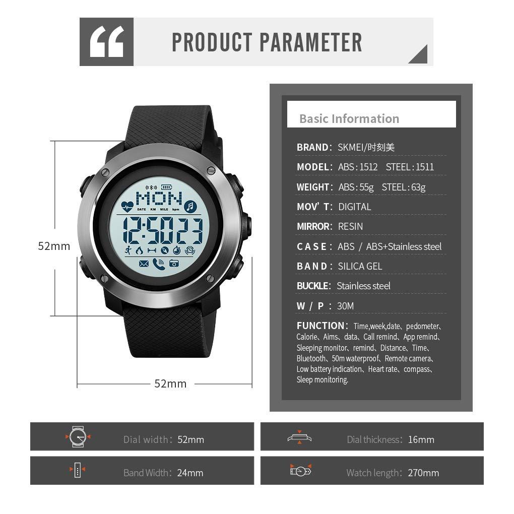 Amazon.com: Tonnier - Reloj inteligente con brújula ...