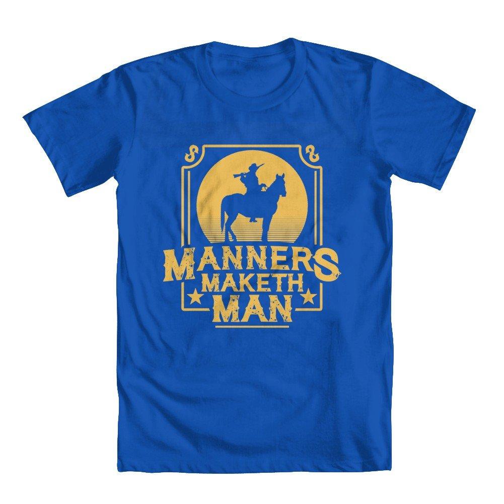 GEEK TEEZ Manners Maketh Man II Youth Girls T-Shirt