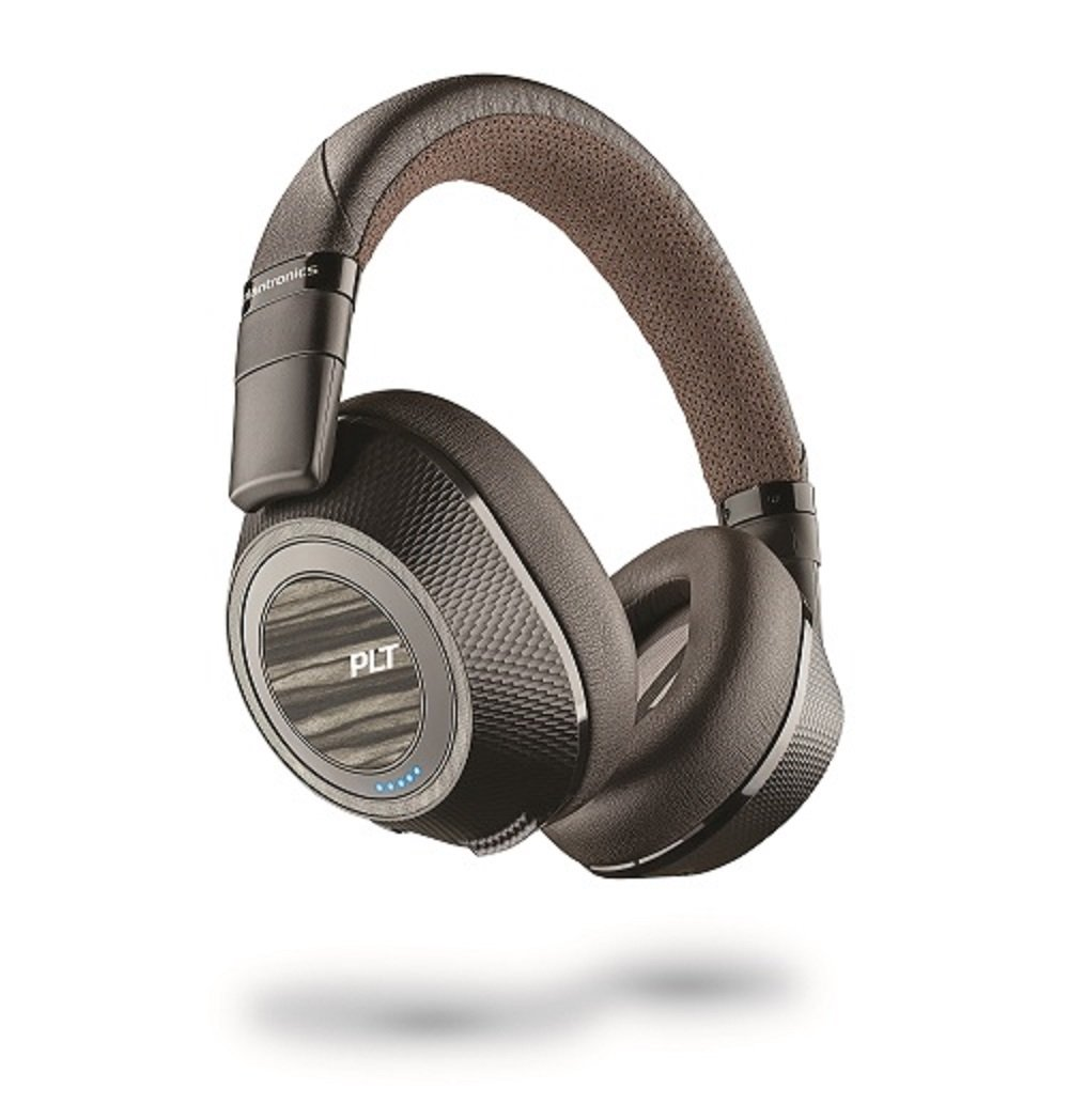 Plantronics Wireless Noise Cancelling Backbeat - Headphones (Black & Tan) (Pro 2) by Plantronics