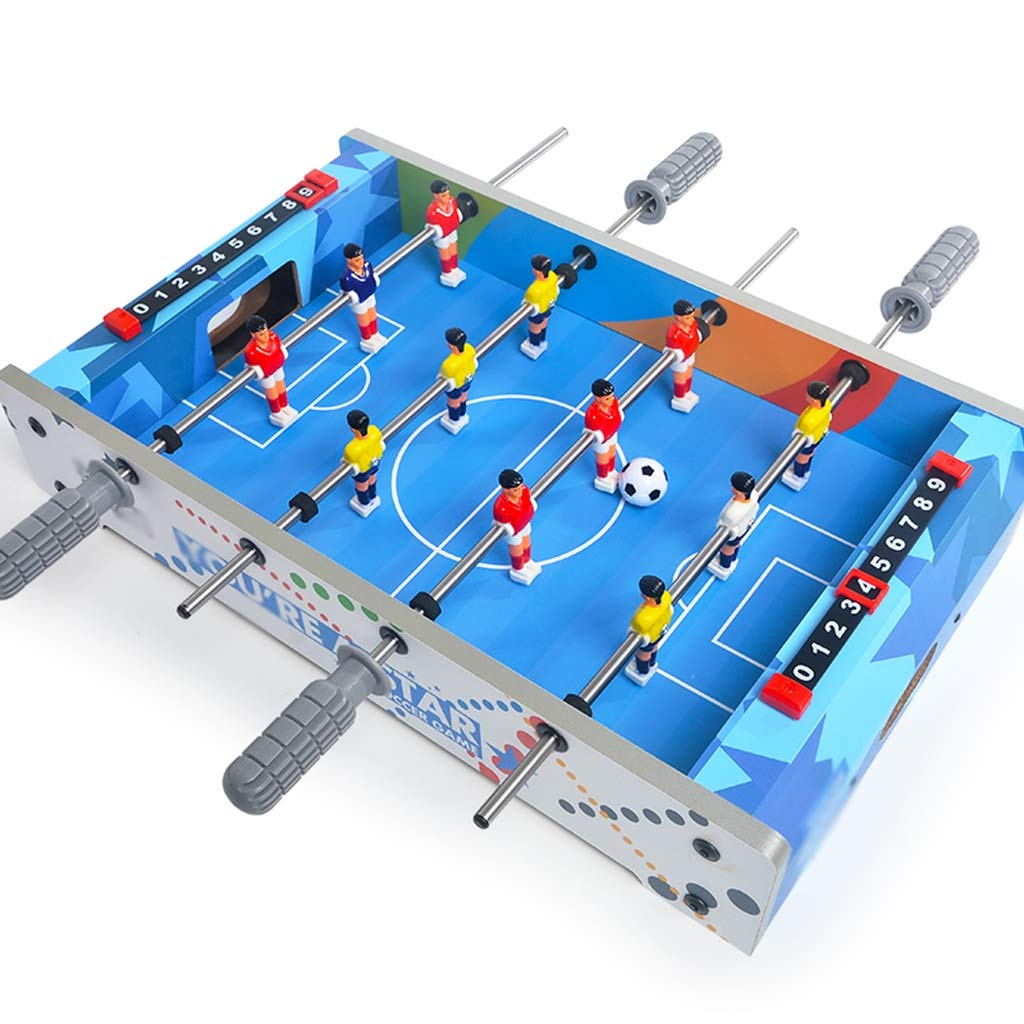 Mustbe Strong Mini Juguetes de interacción Padre-Hijo, máquina de fútbol de Escritorio de Madera Doble, Entretenimiento Saludable Juegos de Puzzle: ...