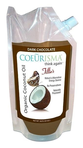 coeurisma Dark Chocolate Aceite de Coco – Tillie de valija ...