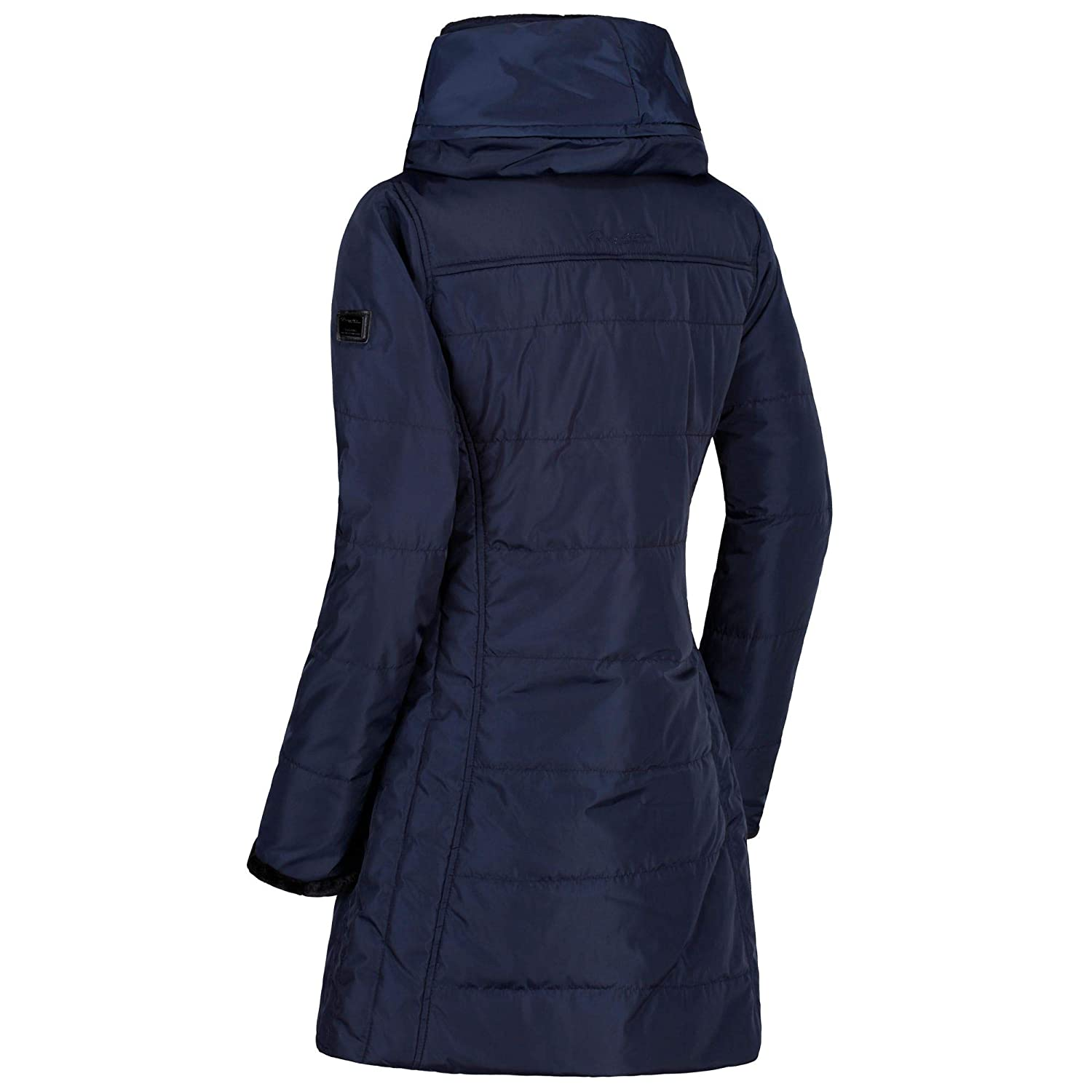 Mujer Regatta Pernella Water Repellent Insulated and Lined Zip-Down Hooded Chaqueta