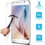NWNK13® Shock Proof Tempered Glass Protector Film Cover Premium Quality For Samsung Galaxy S6 / VI (Galaxy S6)