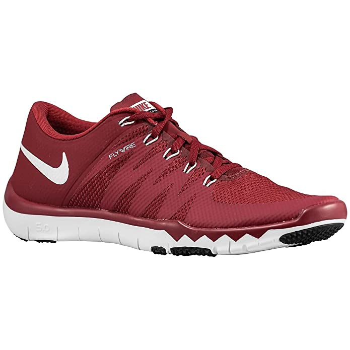 low priced e6f3e 764b0 Amazon.com   Nike Free Trainer 5.0 V6 TB (723987-600) Men s Size 7.5 Red    Road Running