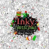 Inky Christmas: An enchanting, festive adult colouring book: Volume 10 (Inky colouring books)