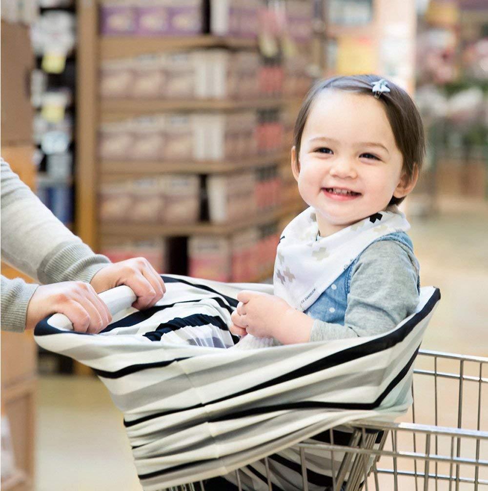 multi-usages Coton Bio dallaitement allaitement Coque auto pour b/éb/é Housse de protection pour auvent Shopping Cart Housse Nid dange pour b/éb/é nouveau-n/é tout-petits Douche Cadeau