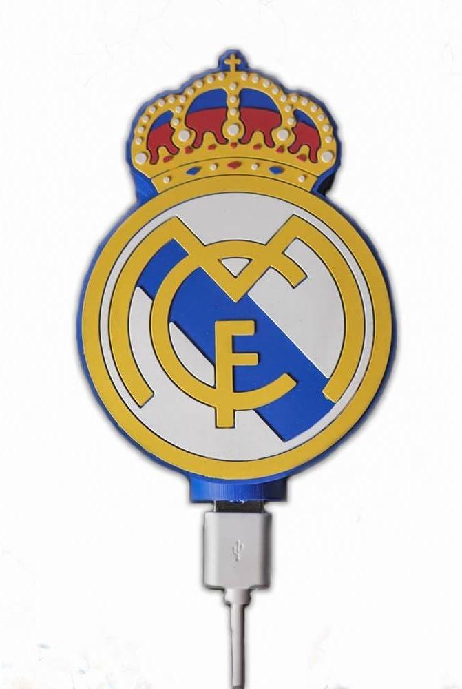 España equipo de fútbol Real Madrid Power Bank (Cargador portátil) 4000 mAh: Amazon.es: Electrónica