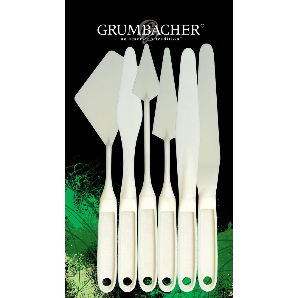 Grumbacher Palette Knife Set, 6/pkg