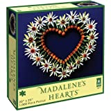 Madalene's Hearts Jigsaw Puzzle, Spring Heart on Blue
