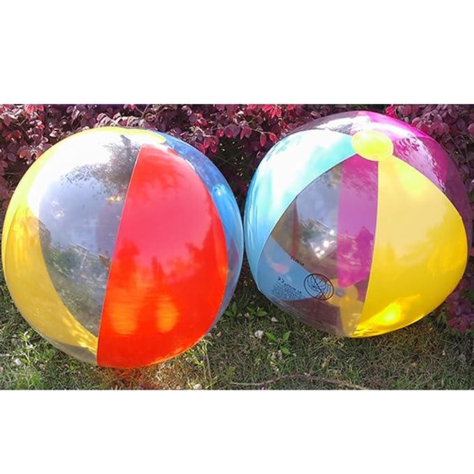 TOYANDONA - Balón de Playa (41 cm), diseño de Rayas, Color ...
