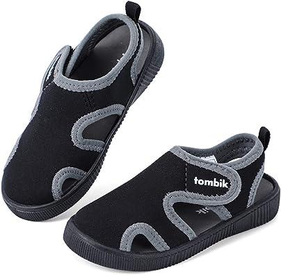 Amazon.com   tombik Toddler Cute Aquatic Water Shoes Boys/Girls Beach  Sandals   Water Shoes