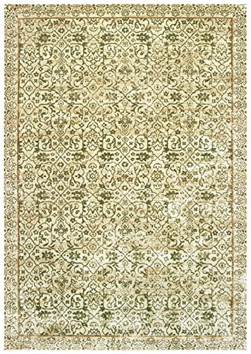 United Weavers Royalton Area Rug 853 10345 Belvoir Green Intricate Petals 5' 3