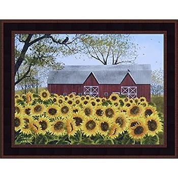 Amazon Com Sunshine By Billy Jacobs 15x19 Red Barn Farm