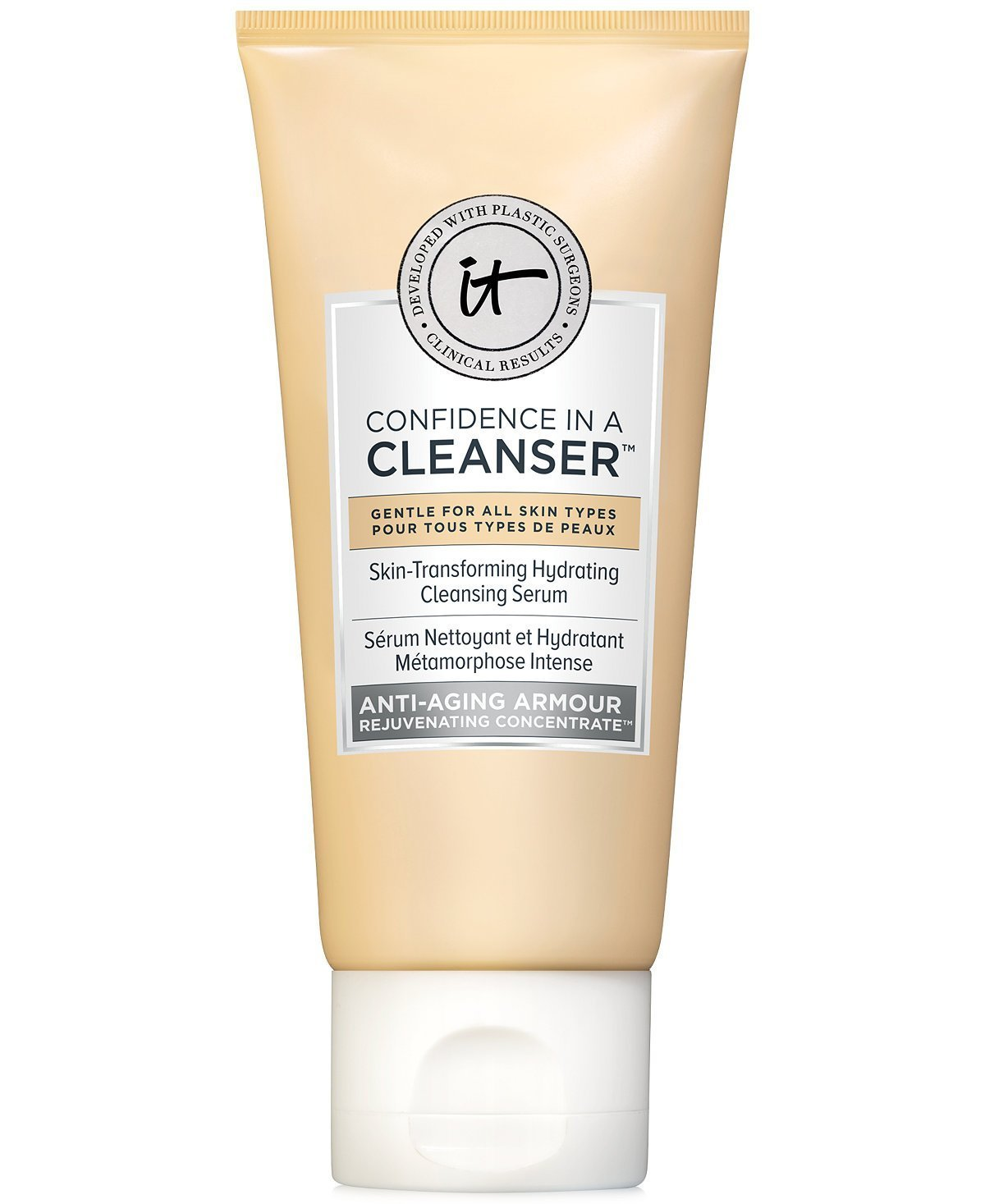 IT Cosmetics Confidence in a Cleanser: Travel Size .6 oz.