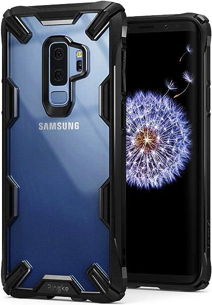 Ringke Funda Galaxy S9 Plus, [Fusion-X] Ergonómico Protector TPU ...