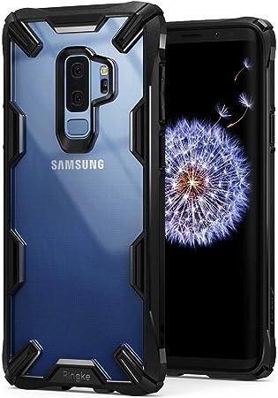 Ringke Funda Galaxy S9 Plus, [Fusion-X] Ergonómico Protector TPU Back Claro PC [Protección contra Caídas de Grado Militar] Absorción de Golpes Cover ...