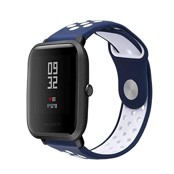 Amazon.com: LitoDream Compatible Amazfit Bip Band, 20mm ...