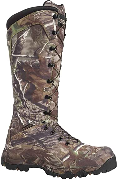 cea6c3b7215 Rocky Men s 16 quot  Seeker Waterproof Snake Boot