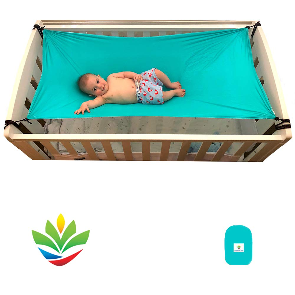 Hammock Bliss - Sky Baby 2 - Hammock Swing - The Ideal Solution for Putting Baby to Sleep - Fits Perfectly in Your Crib or Travel Cot - Floating Bed Helps Get Baby Ready to Nap