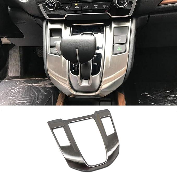 Thenice for CRV Shifting Konb Cover Peach Wood Grain Moulding Gear Shifter Gearlever Decorative Trim fit Honda CR-V 2020 2019 2018 2017